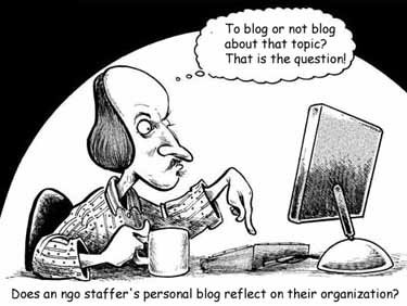 Blogging conundrum