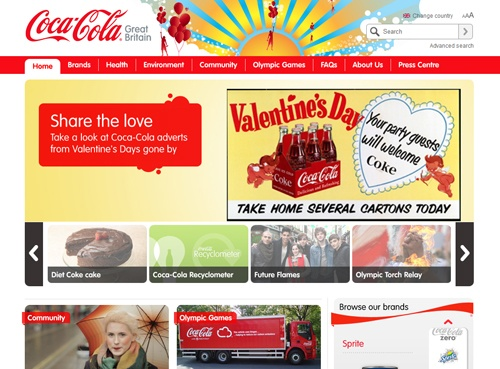coca-cola-uk-website