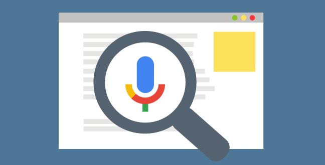 Voice Search SEO Graphic