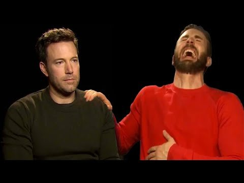 Ben Affleck and Chris Evans