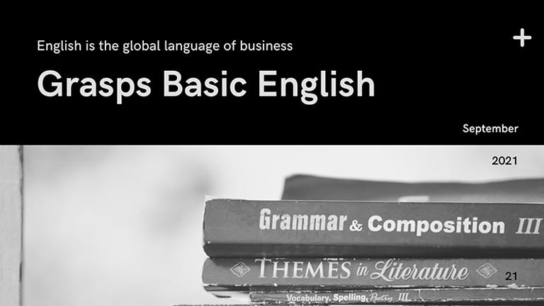 Grasps Basic English