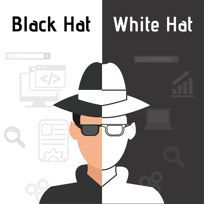 seo black hat and white hat