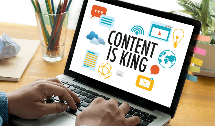 content is king in seo