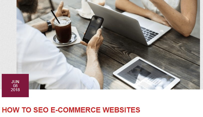 How To SEO ECommerce Websites