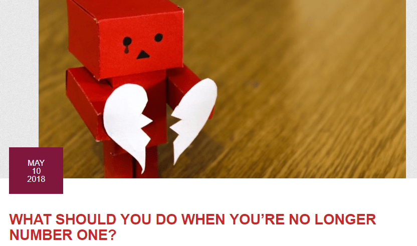 What Should You Do When Youre no longer number One