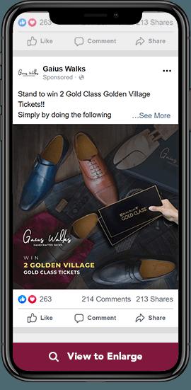 gaius walks ads