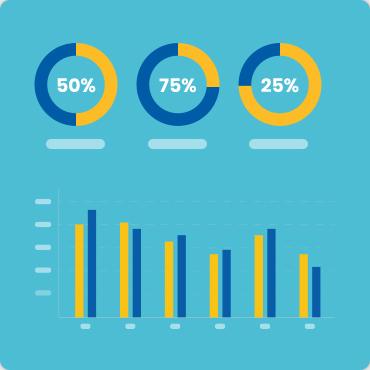 mixed types infographics