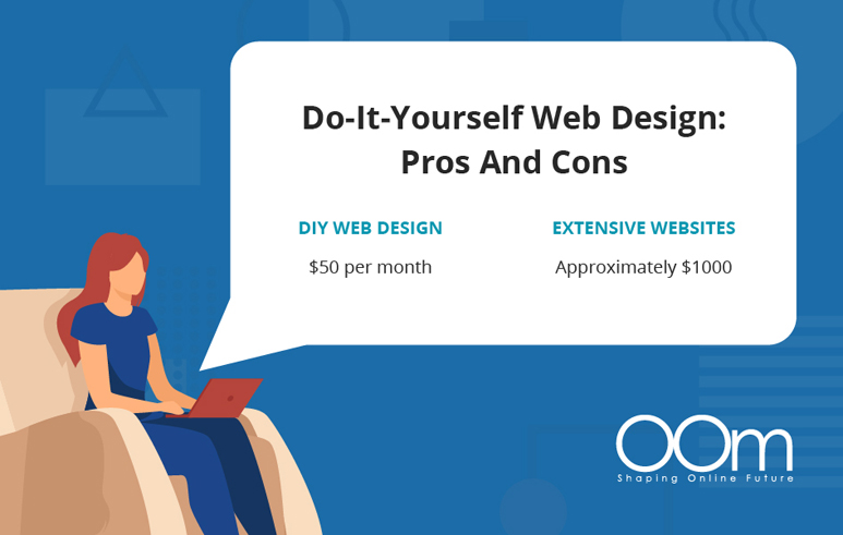 pros and cons of do it yourself website design