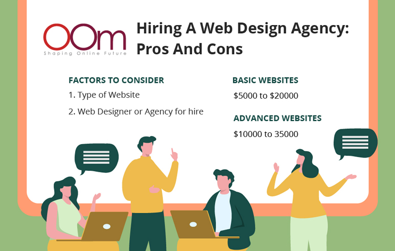 pros and cons of hiring a website design agency