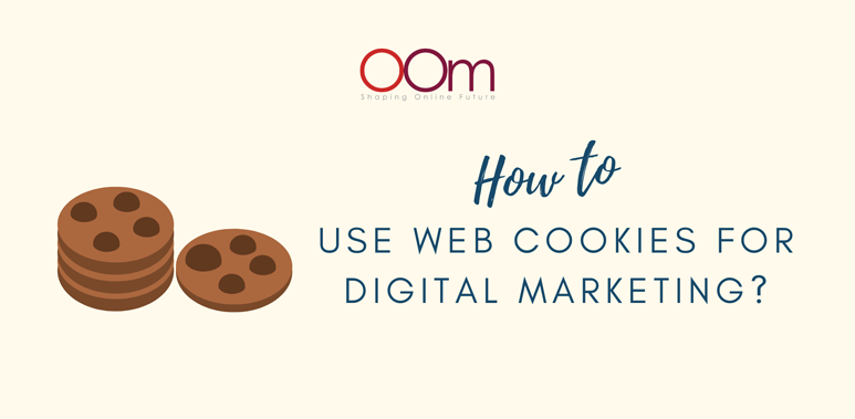 Use of web cookies for digital marketing