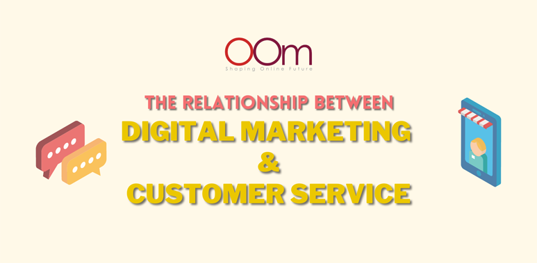 digital marketing and customer service
