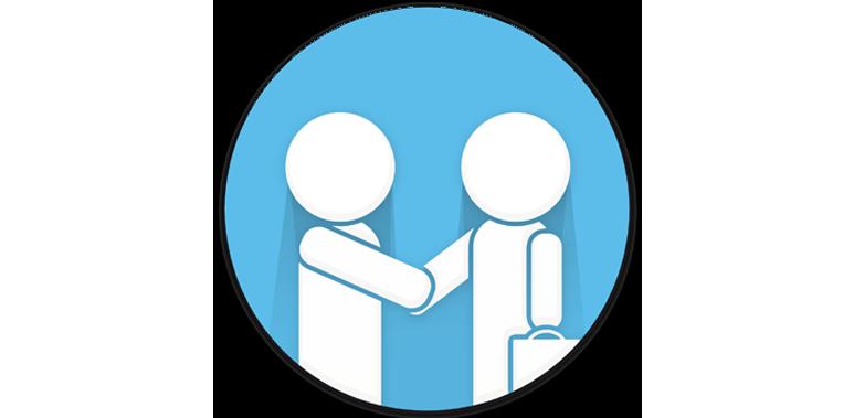 digital marketing working together customer service