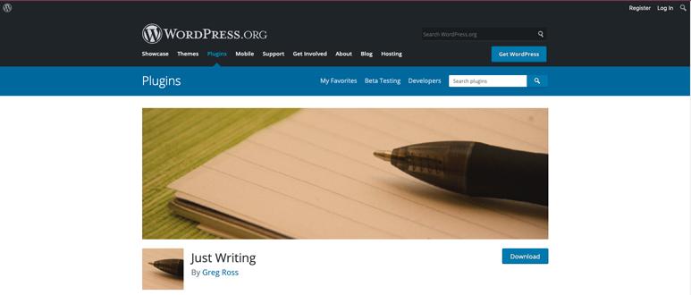 justwriting