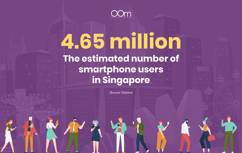 estimated number of smartphone users in Singapore