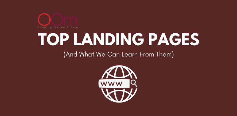 Top Landing Pages What We Can Learn From Them