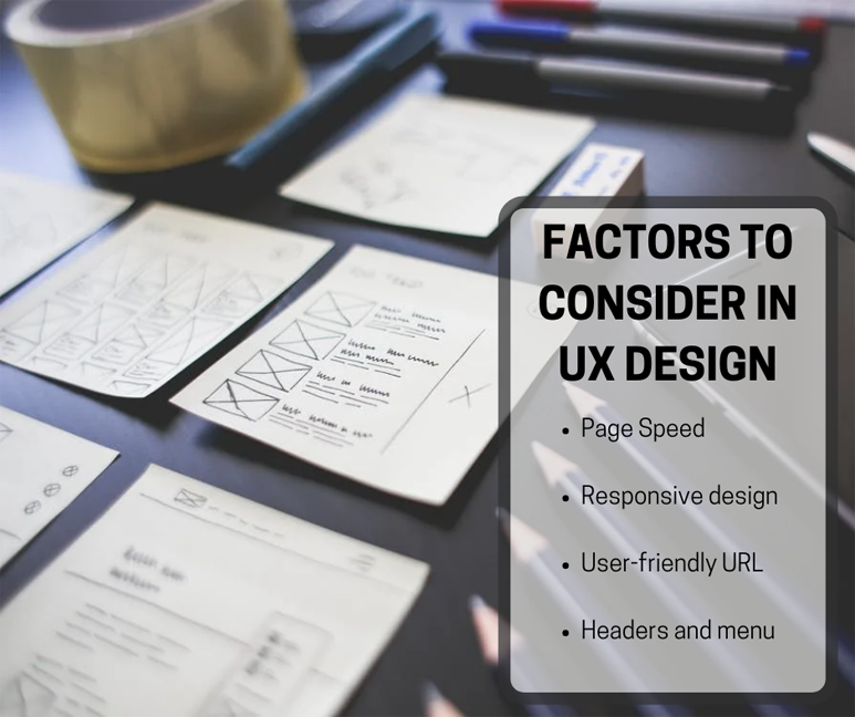 Factors To Consider In User Experience Design