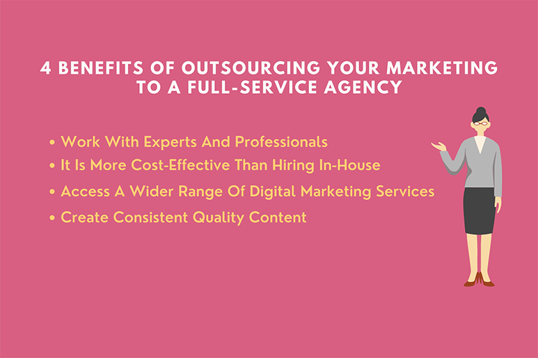 Benefits of Outsourcing your Marketing To-A Full-Service Agency