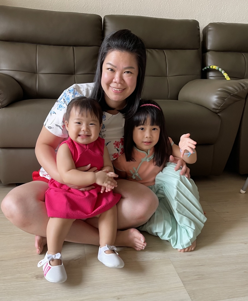 Serena Chen As A Working Mom