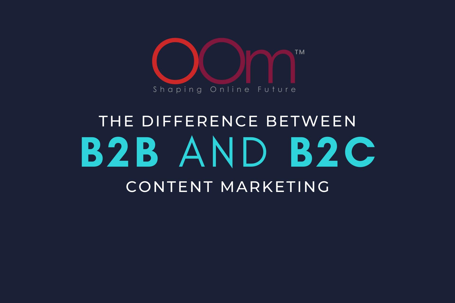 B2B VS B2C Content Marketing