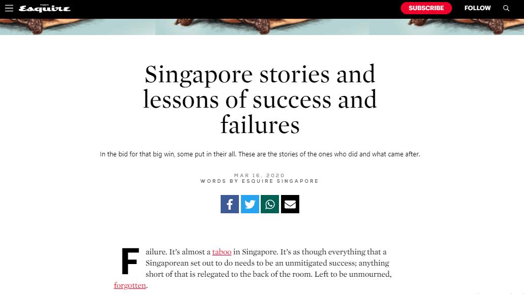 Success Failure Stories